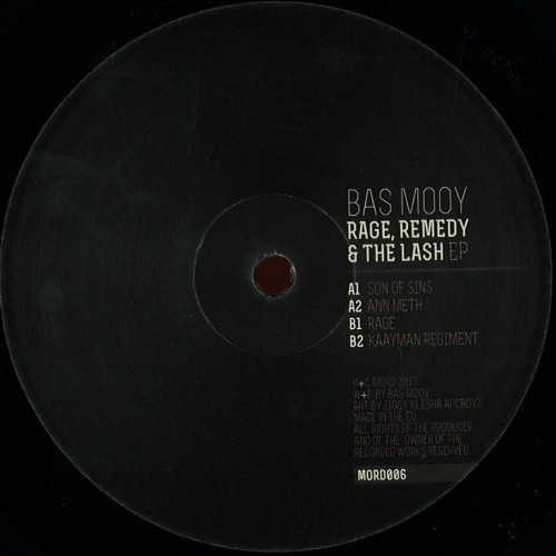 Bas Mooy - Rage, Remedy & The Lash
