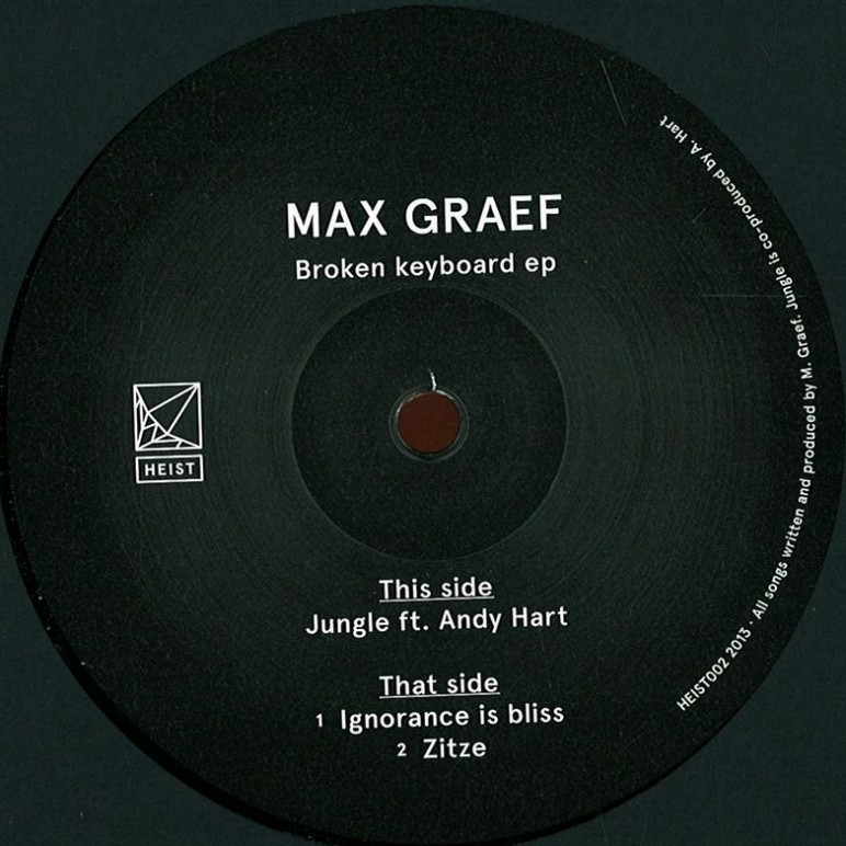 MAX GRAEF  BROKEN KEYBOARD EP