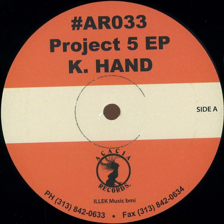 K.HAND PROJECT 5 EP