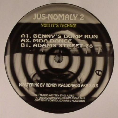 DJ JUS ED Jus Nomaly 2