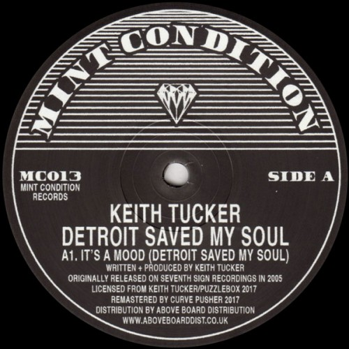Detroit Saved My Soul keith tucker mint condition