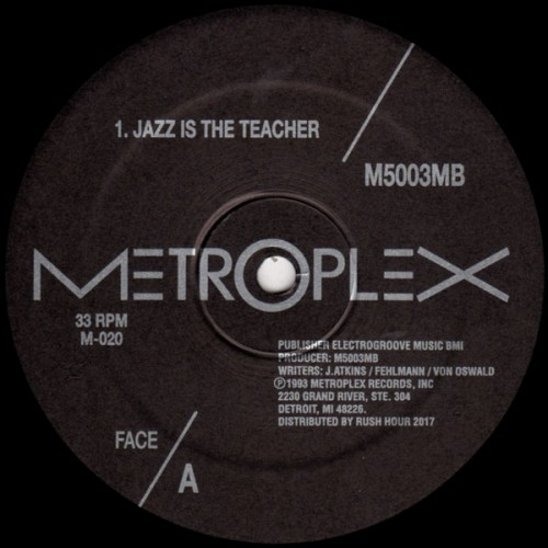 M5003MB JAZZ IS THE TEACHER