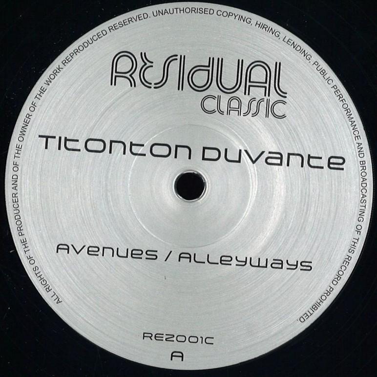 Avenues : Alleyways