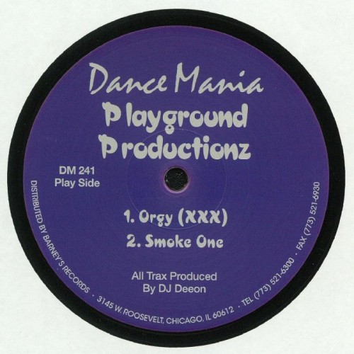 dance mania playground production