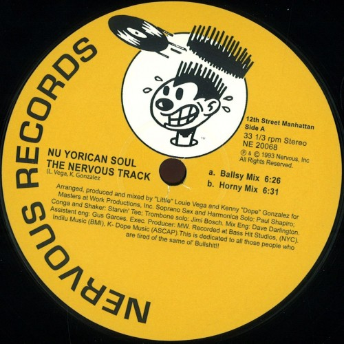 Nu Yorican Soul The Nervous Track
