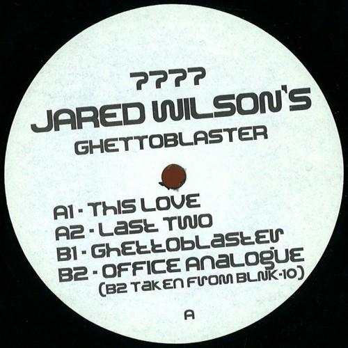 Jared Wilson Ghettoblaster
