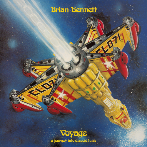 Brian Bennett - Voyage - Front Cover Reconstruction