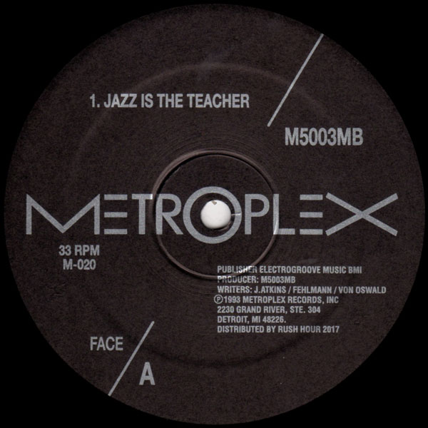 M5003MB JAZZ IS THE TEACHER