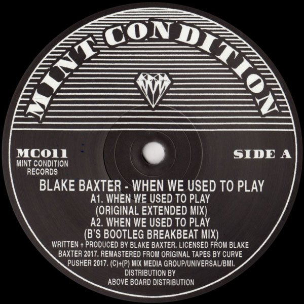 when we used to play blake baxter