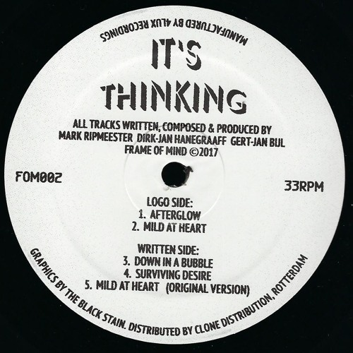 its thinking